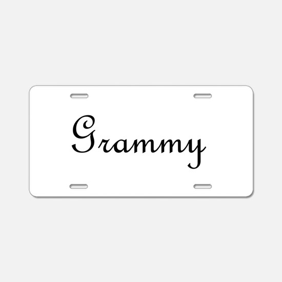 Grammy.png Aluminum License Plate