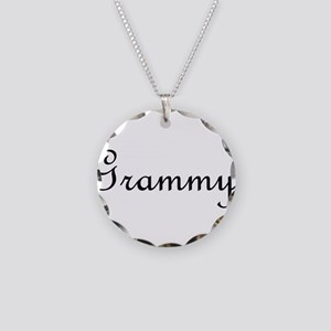 Grammy Necklace Circle Charm