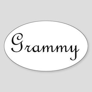 Grammy Sticker (Oval)