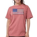 American Flag Womens Comfort Colors Shirt