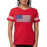 American Flag Womens Football Shirt