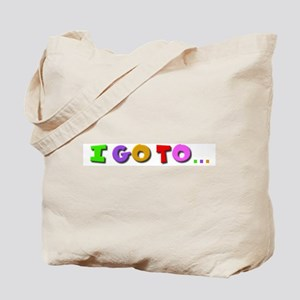 I go to kindergarten Tote Bag