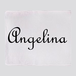 Angelina Throw Blanket