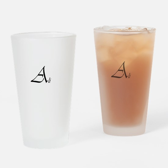 Ali.png Drinking Glass