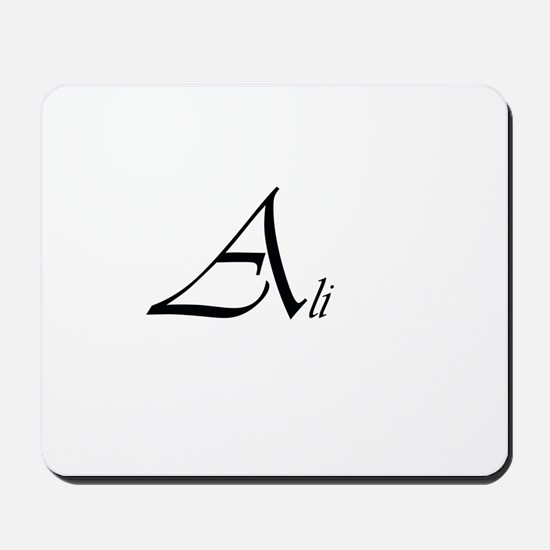 Ali.png Mousepad