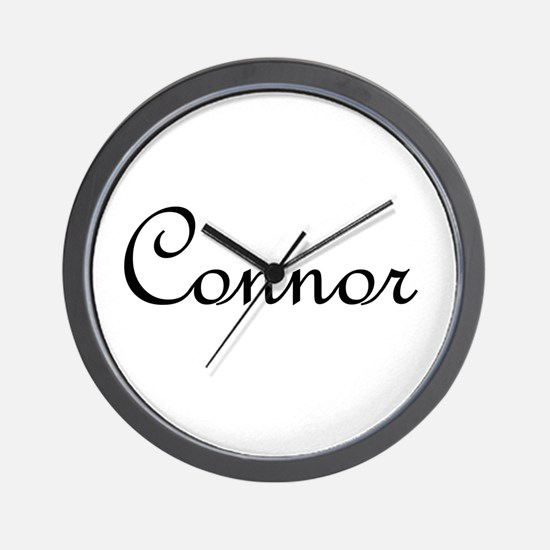 Connor.png Wall Clock