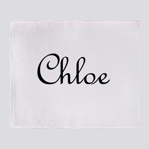 Chloe Throw Blanket
