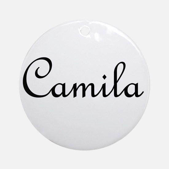 Camila.png Ornament (Round)