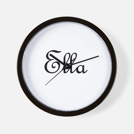Ella.png Wall Clock