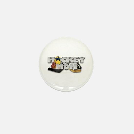 Hockey Mom Mini Button