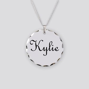 Kylie Necklace Circle Charm