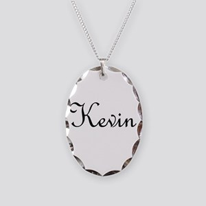 Kevin Necklace Oval Charm