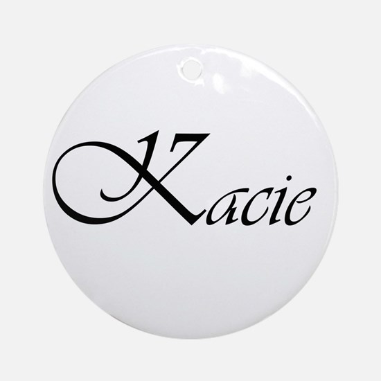Kacie.png Ornament (Round)