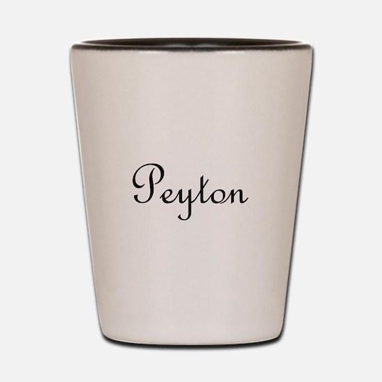 Peyton.png Shot Glass