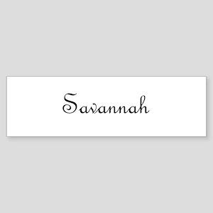 Savannah.png Sticker (Bumper)