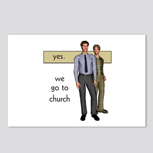 Gay Christian Postcards (Package of 8)