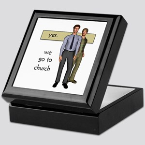 Gay Christian Keepsake Box