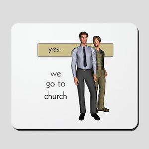 Gay Christian Mousepad