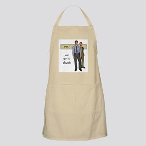Gay Christian BBQ Apron
