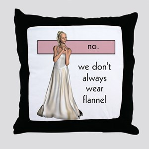 Lesbian Beauty Throw Pillow