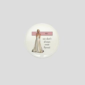 Lesbian Beauty Mini Button