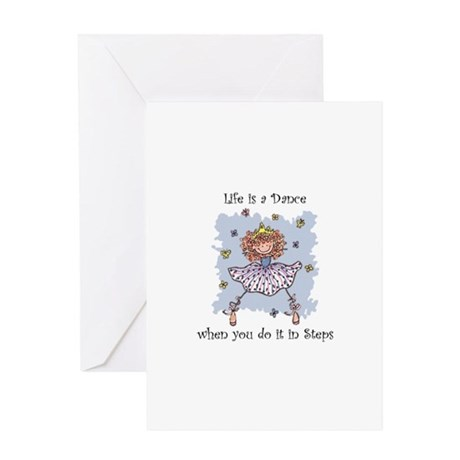 Life is a Dance~555x750 Greeting Card