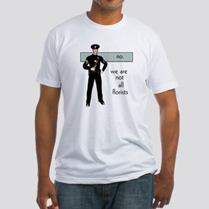 Gay Cop Fitted T-Shirt