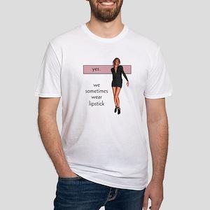 Lipstick/Femme Lesbian Fitted T-Shirt