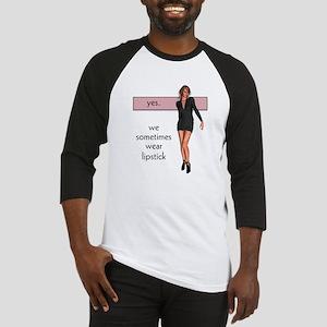 Lipstick/Femme Lesbian Baseball Jersey