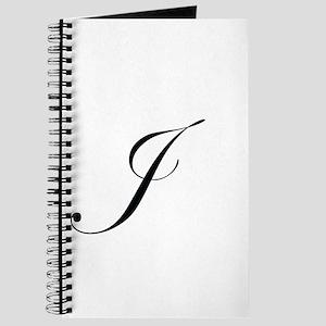 Edwardian Script J Journal