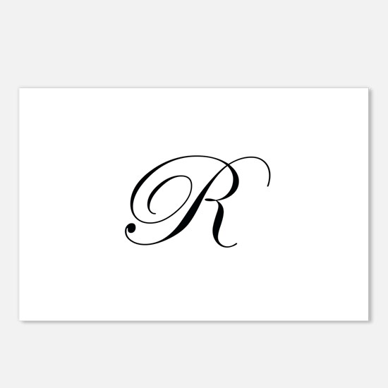 Edwardian Script-R.png Postcards (Package of 8)