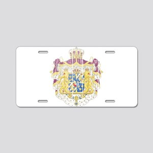Sweden Coat Of Arms Aluminum License Plate