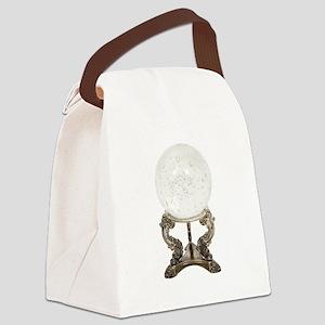 CrystalBall080709 Canvas Lunch Bag