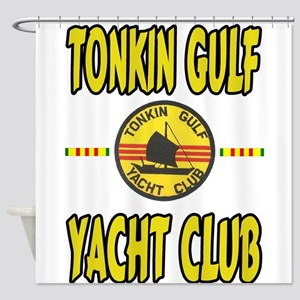 TONKIN GULF YACHT CLUB Shower Curtain