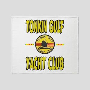 TONKIN GULF YACHT CLUB Throw Blanket