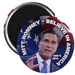 "Romney Believe 2012 2.25"" Magnet (100 pack)"
