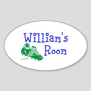 Williams Room Sticker (Oval)