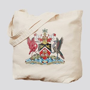 Trinidadand Tobago Coat of Arms wood Tote Bag