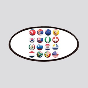 World Cup Soccer Balls Patches