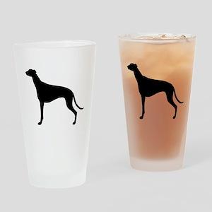 Greyhound Drinking Glass