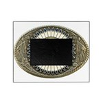 Indian gold oval 3 Picture Frame