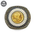 Indian gold oval 3 3.5