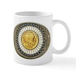 Indian gold oval 3 Mug