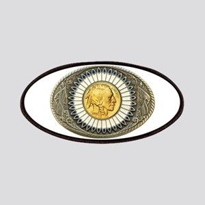 Indian gold oval 3 Patches