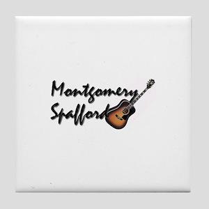 Band Logo Tile Coaster