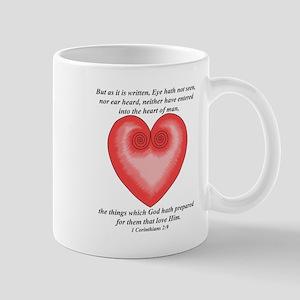 For them that Love Him / Heart Mug