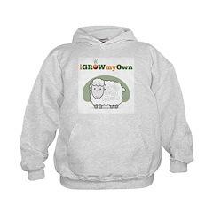 iGrowMyOwn: Sheep Hoodie