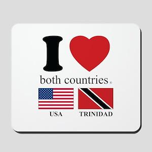 USA-TRINIDAD Mousepad