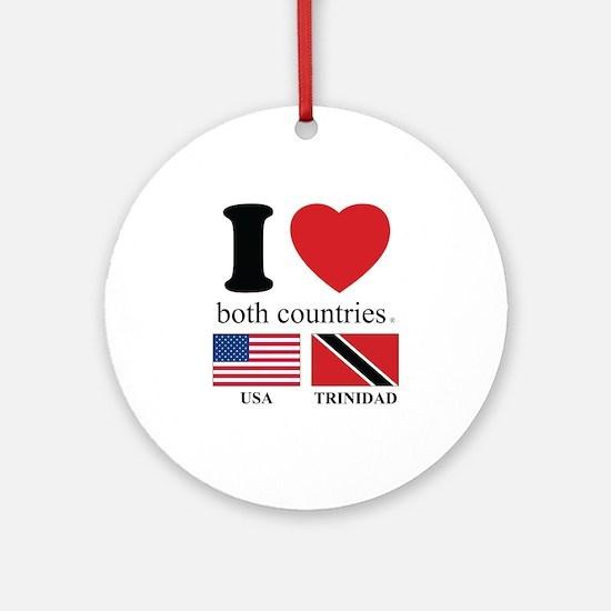 USA-TRINIDAD Ornament (Round)