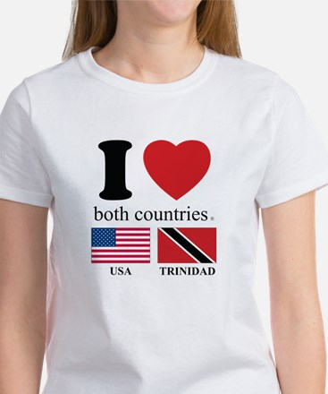 USA-TRINIDAD Women's T-Shirt